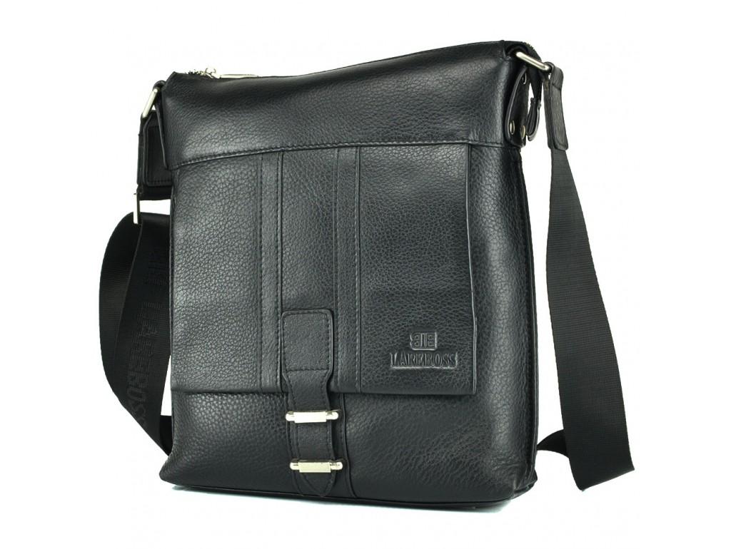Мессенджер Lareboss M8837-3 BLACK - Royalbag