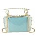 Сумочка-джеллі прозора з заклепками Mona W04-10024BL - Royalbag Фото 4