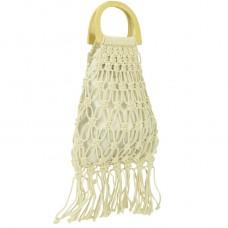Плетеная сумка-авоська Mona WS03-3359W - Royalbag
