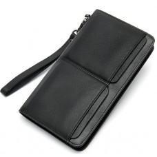 Черный клатч мужской MS Collection Ms007A - Royalbag