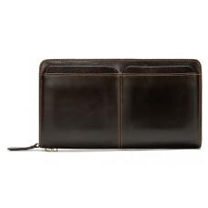 Клатч мужской коричневый MS Ms007B - Royalbag