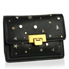 Женская элегантная черная сумка W16-808A - Royalbag