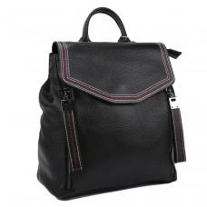 Женский кожаный рюкзак черного цвета F-A25F-FL-88805WA - Royalbag