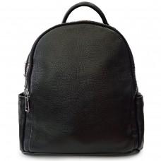 Жіночий стильний чорний шкіряний рюкзак Olivia Leather F-FL-NWBP27-015A - Royalbag