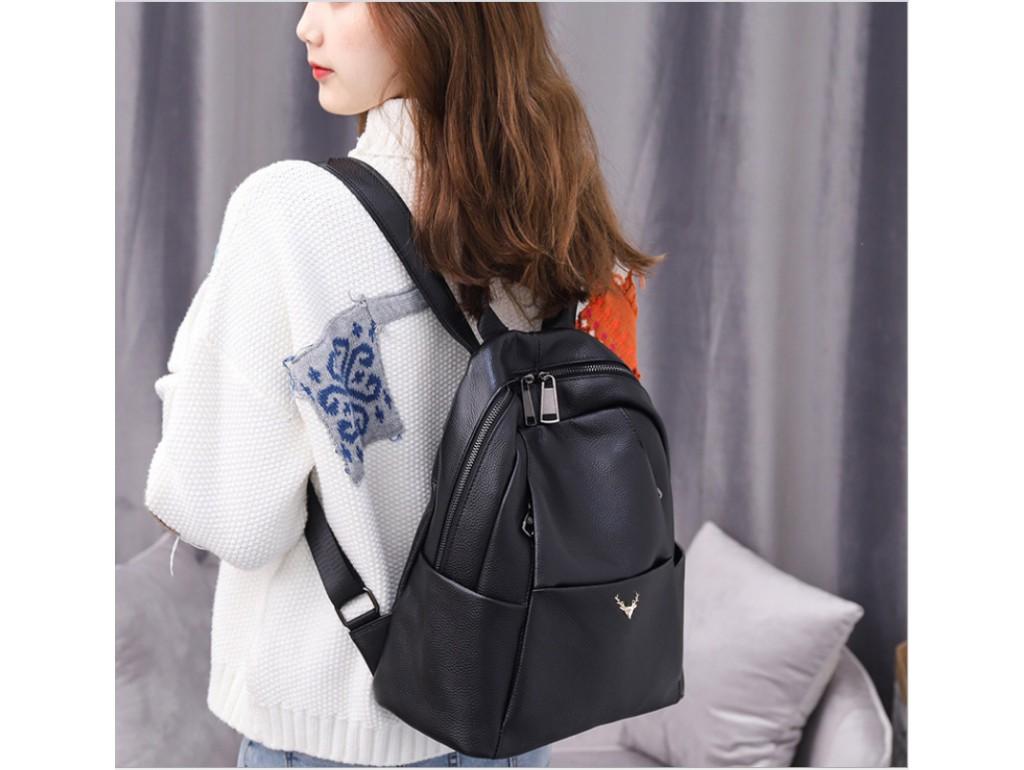 Стильний шкіряний рюкзак Olivia Leather F-NWBP27-8088A - Royalbag