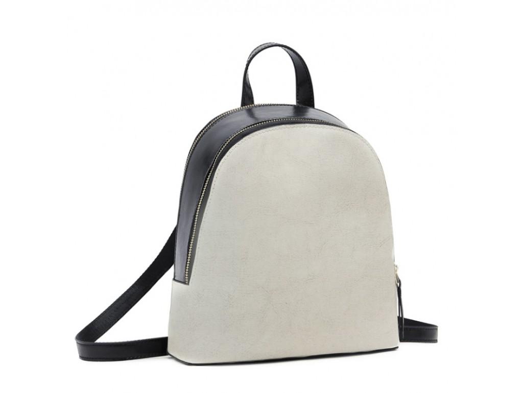 Рюкзак двоколірний Olivia Leather F-S-Y01-7005W - Royalbag Фото 1