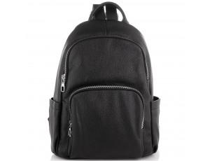 Женский кожаный черный рюкзак Olivia Leather NWBP27-001A - Royalbag