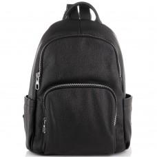 Жіночий шкіряний чорний рюкзак Olivia Leather NWBP27-001A - Royalbag
