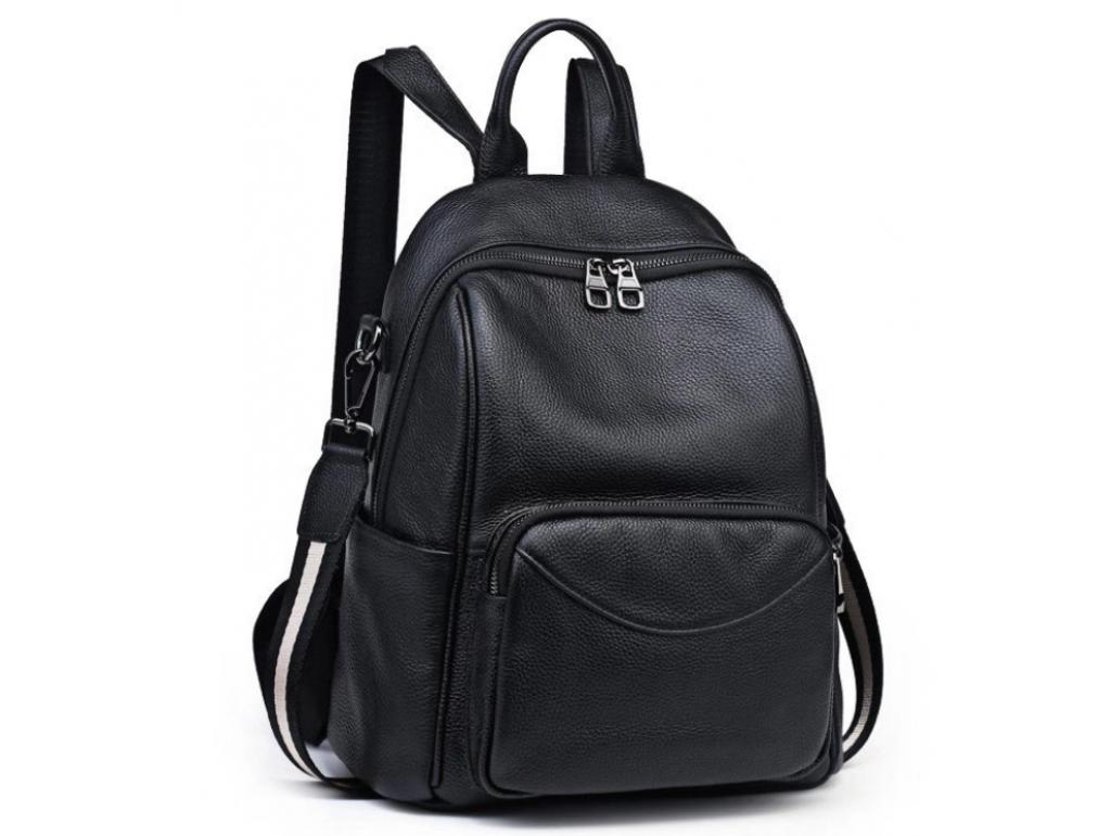 Жіночий шкіряний рюкзак Olivia Leather NWBP27-006A - Royalbag Фото 1