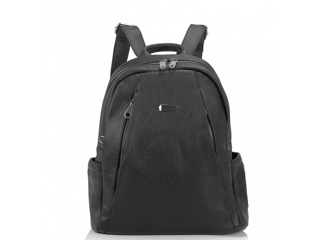 Женский черный рюкзак Olivia Leather NWBP27-008A - Royalbag