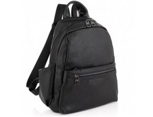 Жіночий чорний шкіряний рюкзак Olivia Leather NWBP27-007A - Royalbag