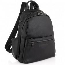 Жіночий чорний шкіряний рюкзак Olivia Leather NWBP27-007A - Royalbag Фото 2