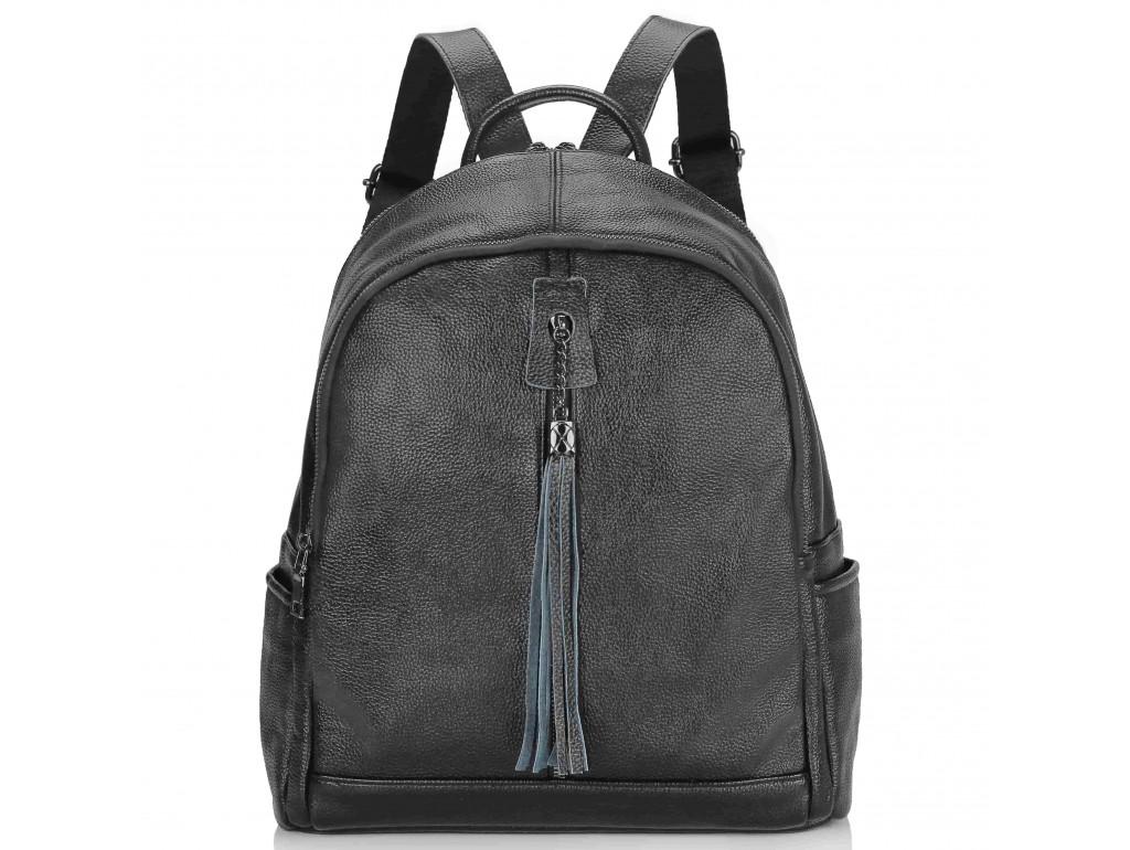 Женский рюкзак черный Olivia Leather NWBP27-6627A - Royalbag