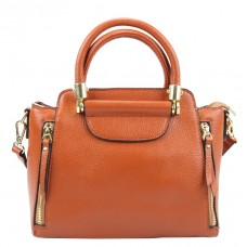 Яркая кожаная сумка из натуральной кожи Riche F-A25F-FL-86002WB - Royalbag