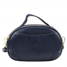 Женская кожаная сумка синего цвета Riche F-A25F-FL-89019WBL - Royalbag