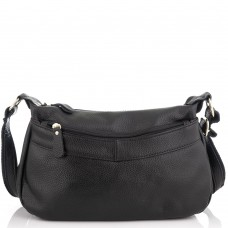 Жіноча шкіряна сумка чорна Riche NM20-W0326A - Royalbag