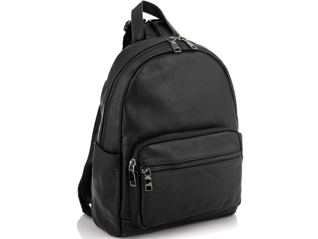 Женский рюкзак черный Riche NM20-W10086A - Royalbag Фото 1