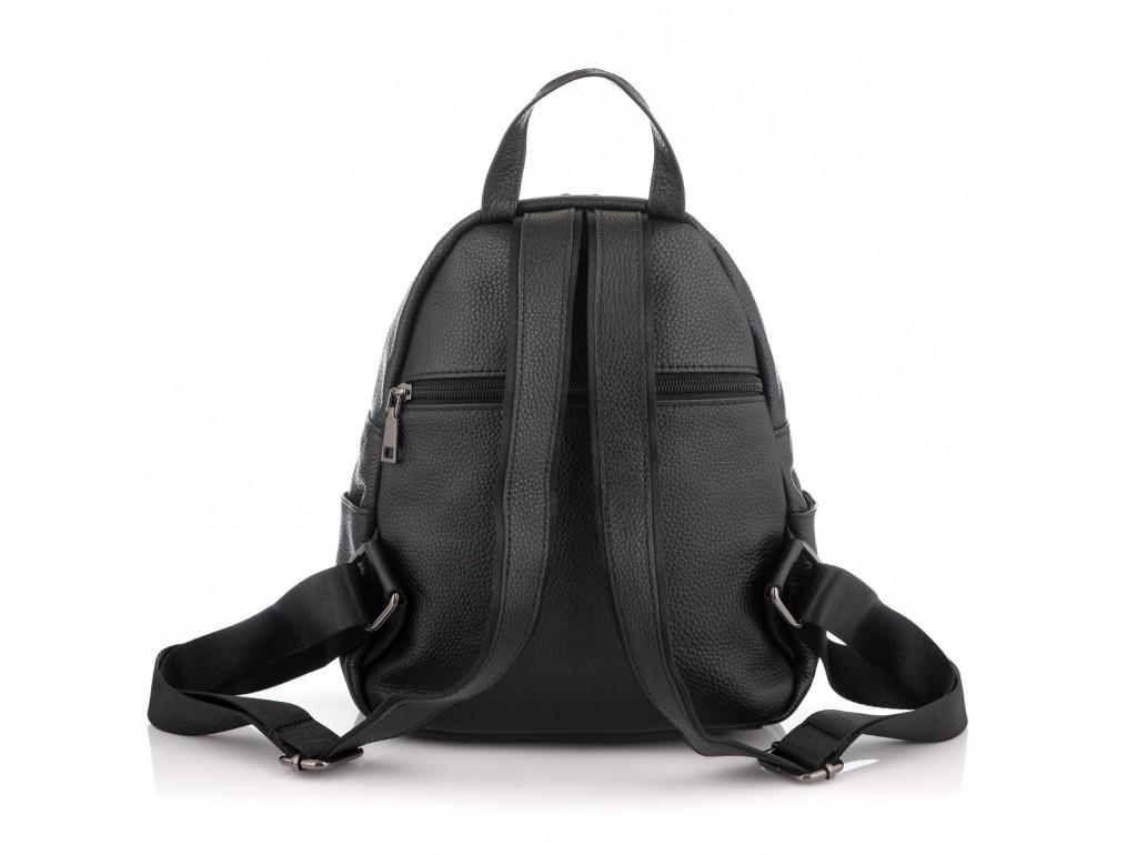 Жіночий шкіряний чорний рюкзак Riche NM20-W322A - Royalbag