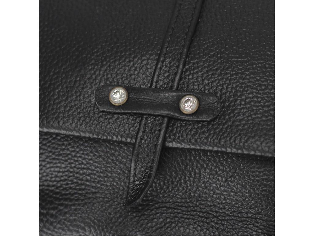 Женская кожаная сумочка кроссбоди черная Riche NM20-W645A - Royalbag