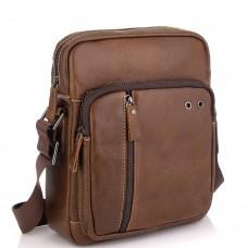 Коричневая мужская сумка через плечо Tiding Bag N2-0013B - Royalbag