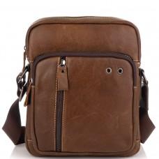 Коричнева чоловіча сумка через плече Tiding Bag N2-0013B - Royalbag