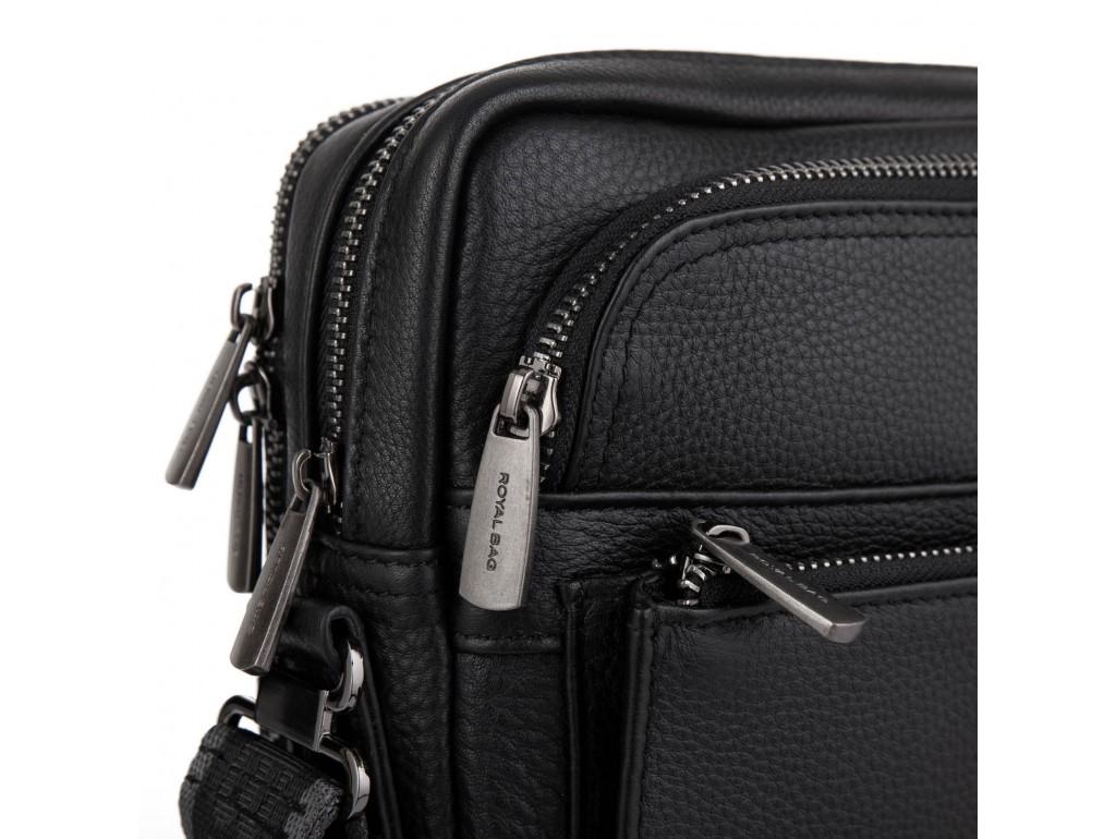 Сумка через плечо кожаная мужская Royal Bag RB-008-2A - Royalbag