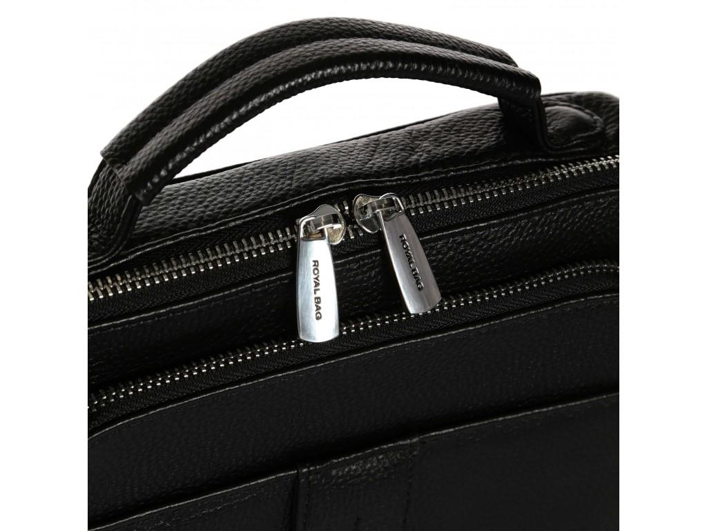 Сумка-барсетка с ручкой и наплечным ремнем Royal Bag RB-009A
