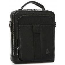 Сумка-барсетка с ручкой и наплечным ремнем Royal Bag RB-009A - Royalbag
