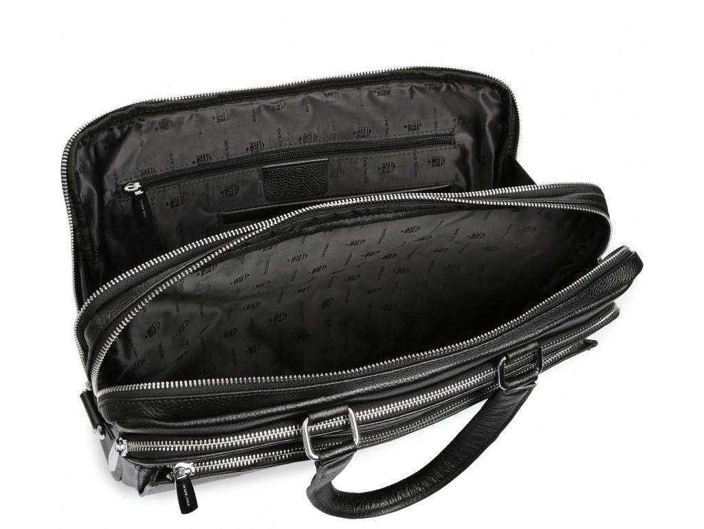 Мужская кожаная сумка для ноутбука Royal Bag RB-010A-1 - Royalbag