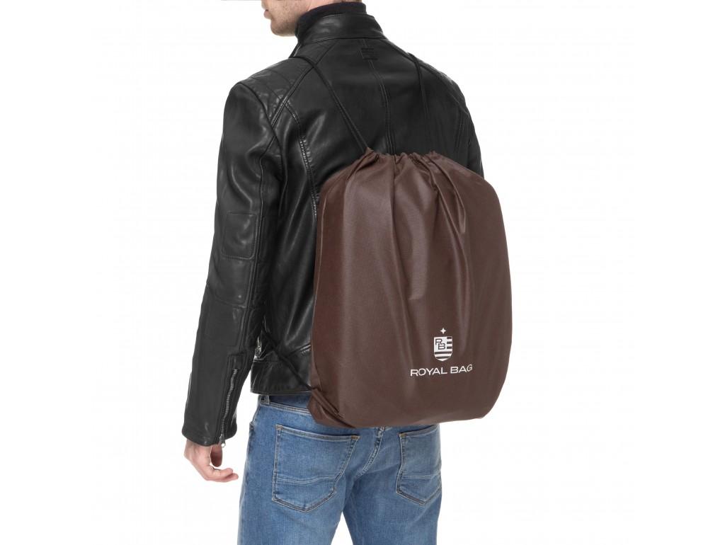 Сумка-портфель мужская кожаная для документов Royal Bag RB-015A-1 - Royalbag