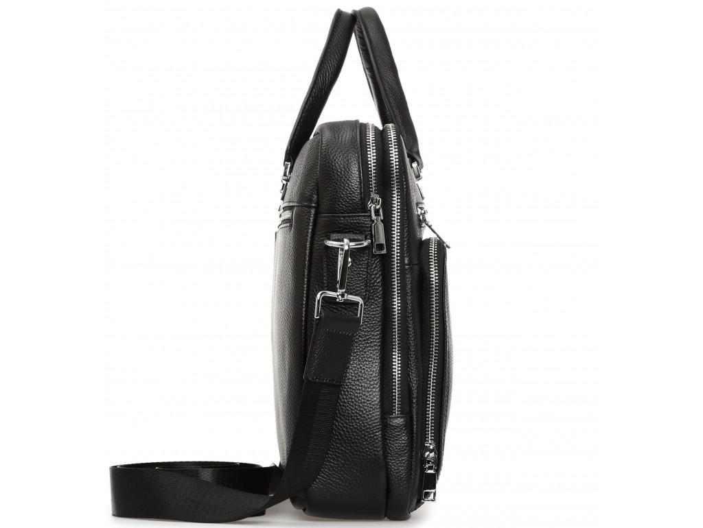 Сумка-портфель деловая мужская кожаная Royal Bag RB-021A-1 - Royalbag