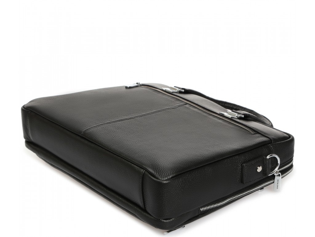 Деловая мужская кожаная сумка Royal Bag RB-021A - Royalbag