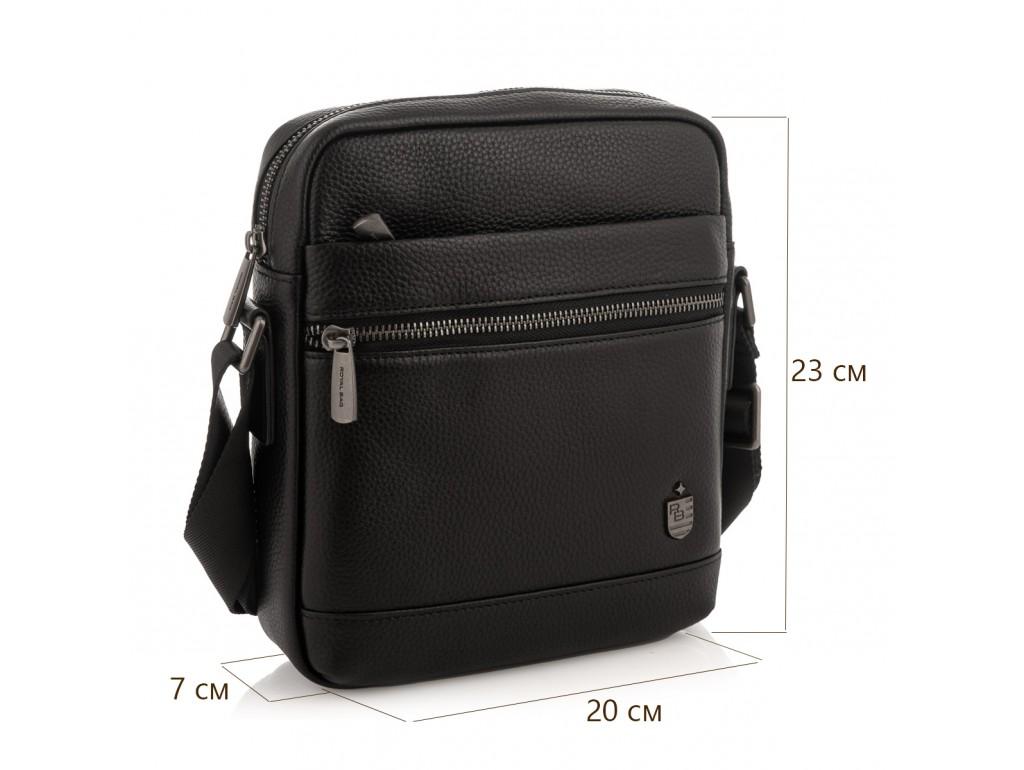 Мужская кожаная сумка через плечо Royal Bag RB29-88078А - Royalbag