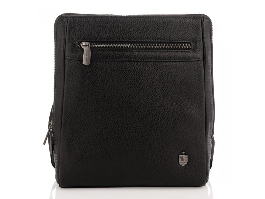 Мужской черный мессенджер Royal Bag RB2970081 - Royalbag