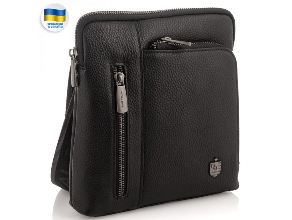 Мужская кожаная сумка, мессенджер Royal Bag RB2970091 - Royalbag Фото 1