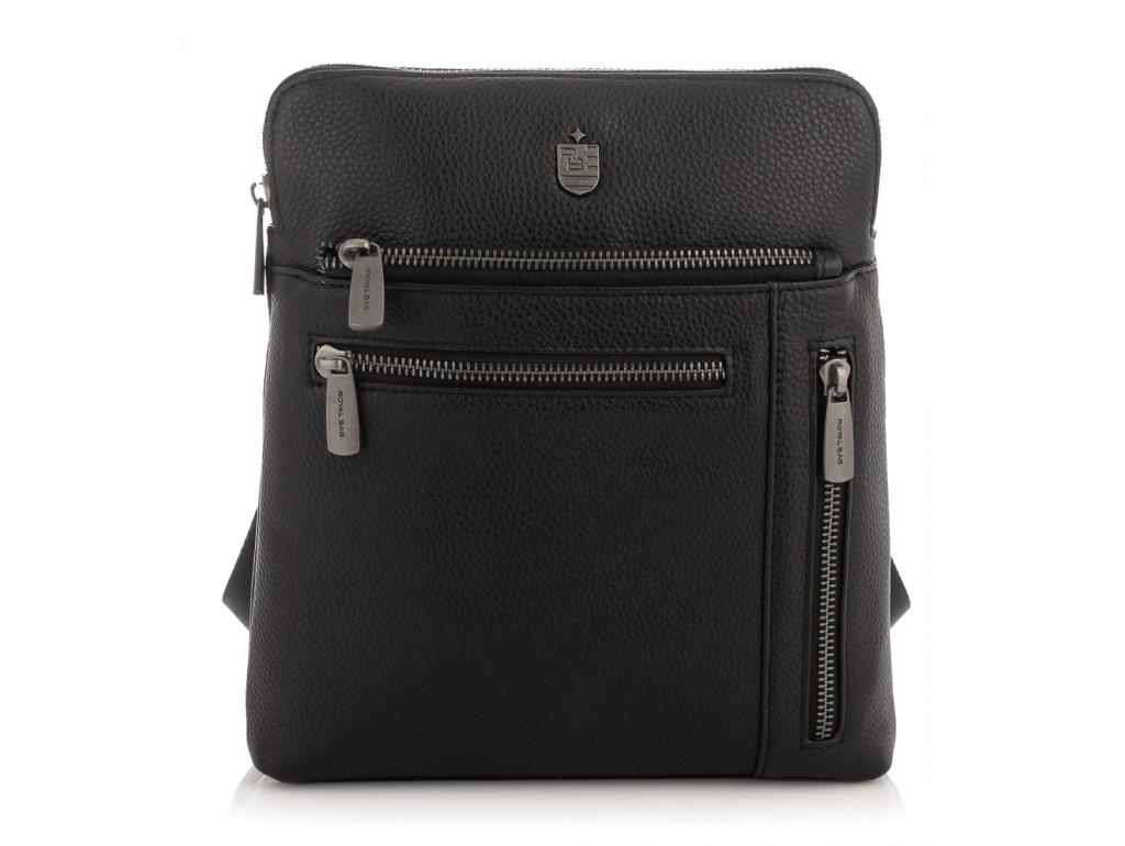 Мужская кожаная сумка, мессенджер Royal Bag RB2970141 - Royalbag