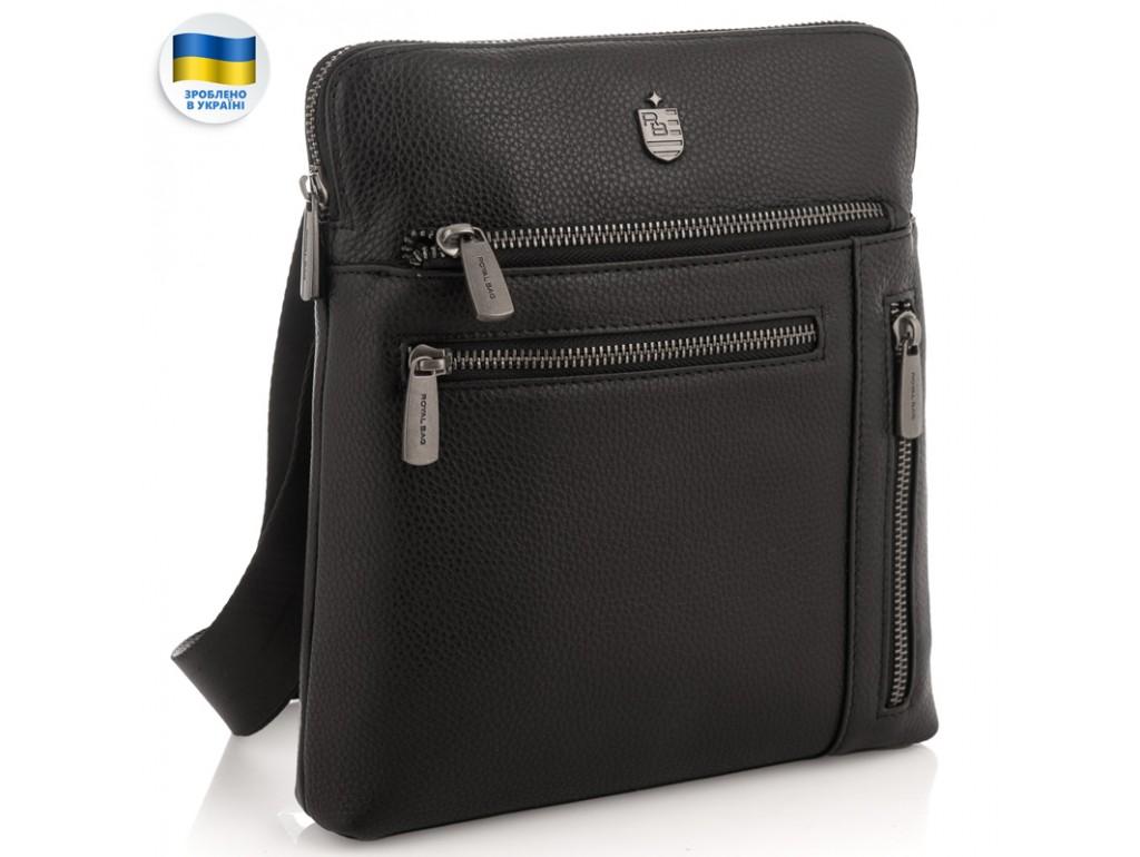 Мужская кожаная сумка, мессенджер Royal Bag RB2970141 - Royalbag Фото 1