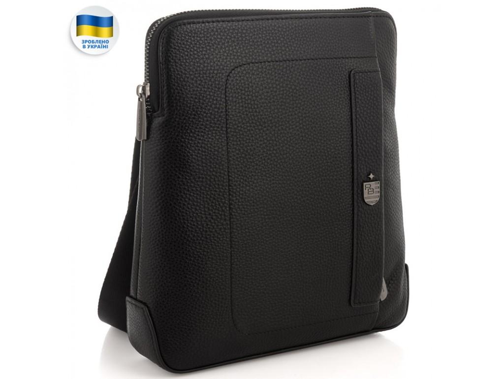 Мужской средний мессенджер Royal Bag RB2970151 - Royalbag Фото 1