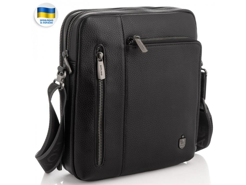 Чоловіча шкіряна сумка через плече Royal Bag RB297890 - Royalbag Фото 1