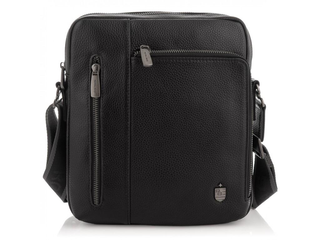 Чоловіча шкіряна сумка через плече Royal Bag RB297890 - Royalbag