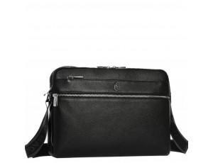Горизонтальная почтальонка через плечо кожаная Royal Bag RB70051 - Royalbag