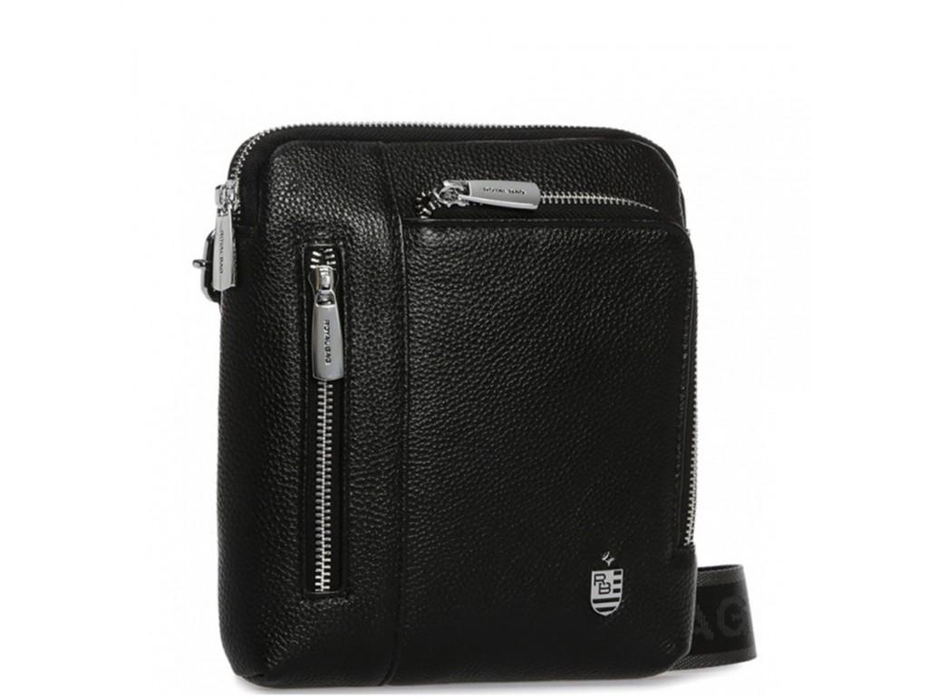 Мужская кожаная сумка через плечо маленькая Royal Bag RB70091 - Royalbag Фото 1