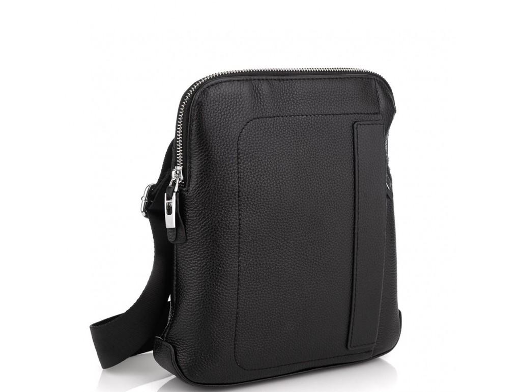 Мужская кожаная сумка через плечо мессенджер Royal Bag RB70151-1 - Royalbag Фото 1
