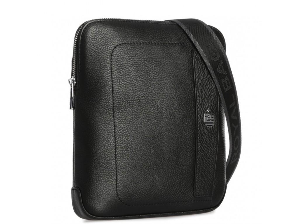 Мужская кожаная сумка через плечо мессенджер Royal Bag RB70151 - Royalbag Фото 1