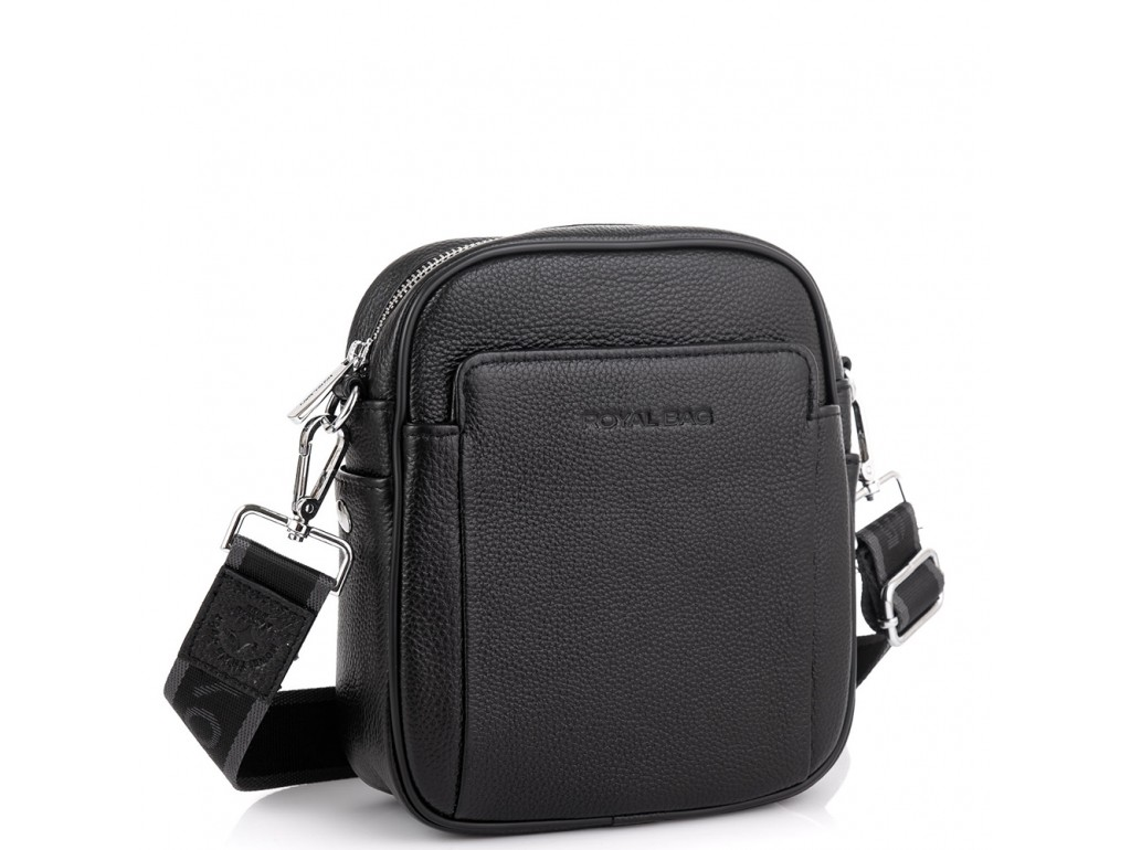 Мужская сумка через плечо из натуральной кожи Royal Bag RB70208 - Royalbag Фото 1