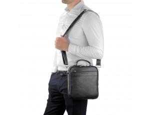 Мужская сумка кожаная через плечо Royal Bag RB70209 - Royalbag