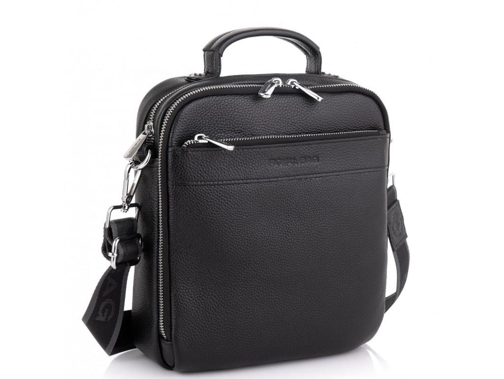 Мужская сумка кожаная через плечо Royal Bag RB70209 - Royalbag Фото 1