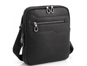 Чоловіча сумка на три відділення натуральна шкіра Tavinchi S-004A - Royalbag
