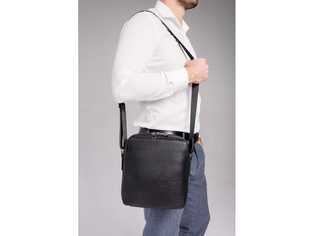 Кожаная сумка через плечо классическая Tavinchi S-006A - Royalbag