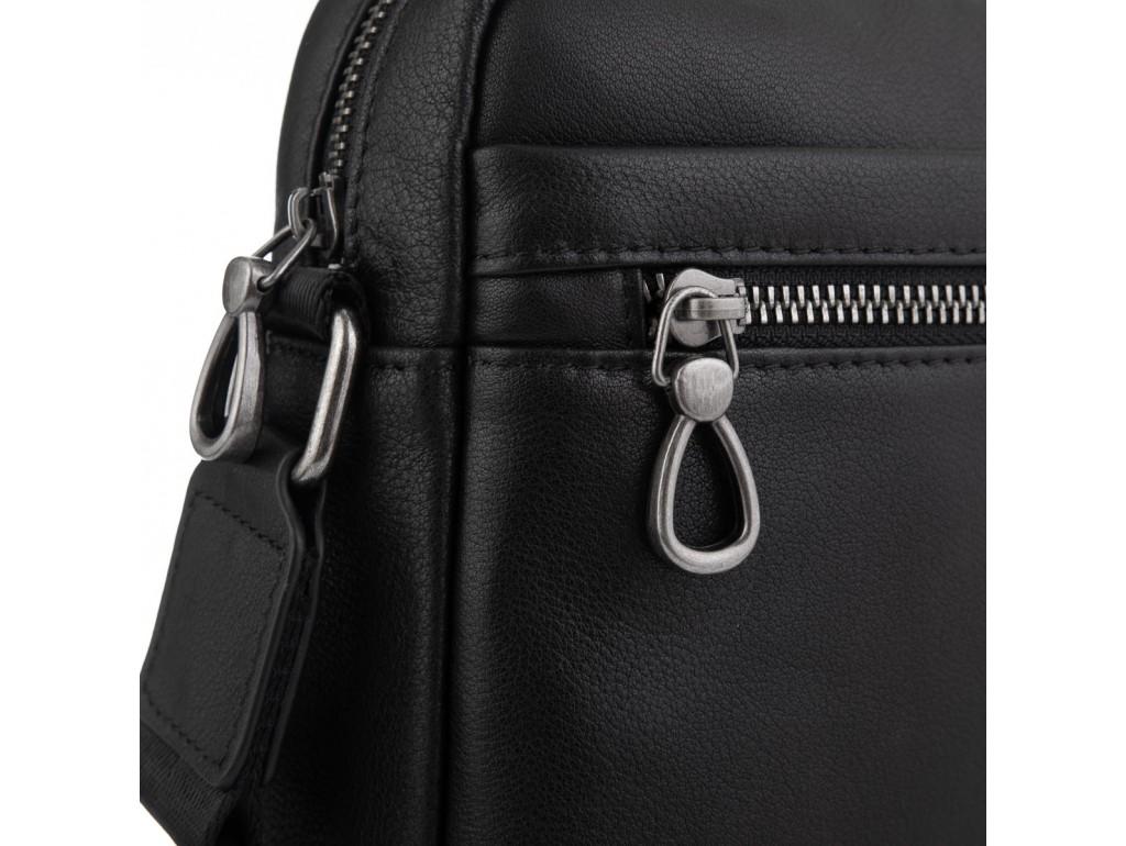 Мужская сумка через плечо в черном цвете Tiding Bag SM8-235A - Royalbag